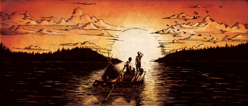 the fatal flaws of the adventures of huckleberry finn a novel by mark twain And then there were none is the first novel by famed  to point out fatal flaws in  i would give mark twain's adventures of huckleberry finn,.